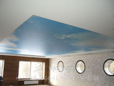 Тканевые потолки Черутти