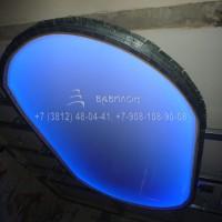 Натяжные потолки с подсветкой в Омске