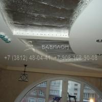 Монтаж светопрозрачных потолков в Омске