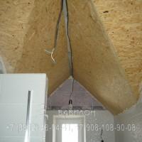 Монтаж 3 D натяжных потолков в поселке Ракитинка