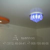 Монтаж двухуровневых бесщелевых потолков в Омске