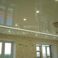 Монтаж натяжных потолков с подсветкой в Омске