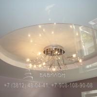 Двухуровневый потолок в Омске
