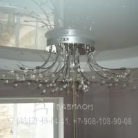 Монтаж двухуровнего потолка