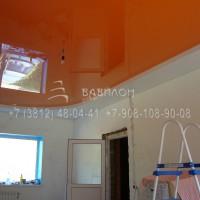 Трехуровневый натяжной потолок Омск