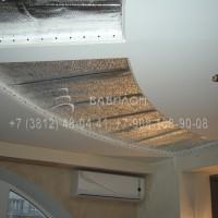 Монтаж натяжного потолка в Омске