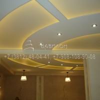 Монтаж светопрозрачного потолка в Омске