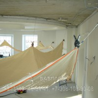 Монтаж элитного потолка в Омске