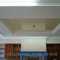Элитный натяжной потолок в Омске