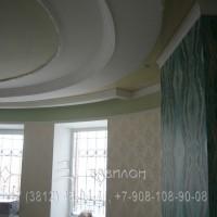 Натяжной потолок элитный в Омске
